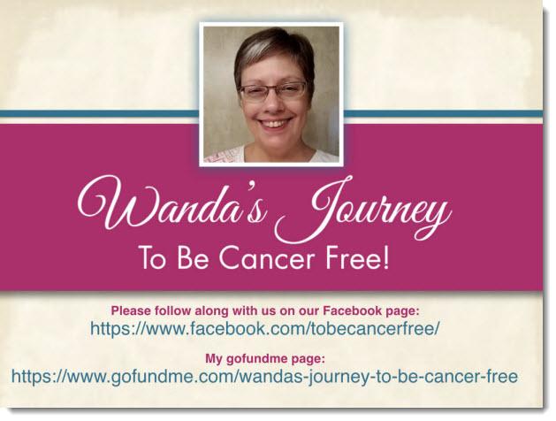 Wanda Marie Hebron cancer free